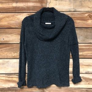 gray cowl neck small Royal Robbins sweater